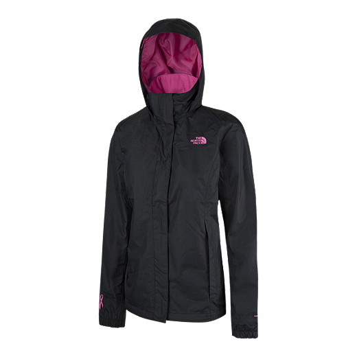 435105700 The North Face Women's Pink Ribbon Resolve 2 Shell 2L Jacket