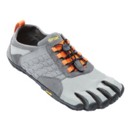 Vibram FiveFingers Men's Trek Ascent Hiking Shoes - Grey/Orange