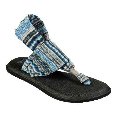 Sanuk Women's Yoga Sling 2 Prints Casual Shoes - Grey