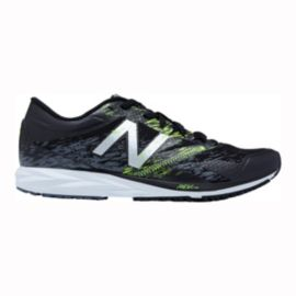 New Balance Men's STROBE1 Running Shoes - Black/Electric Green