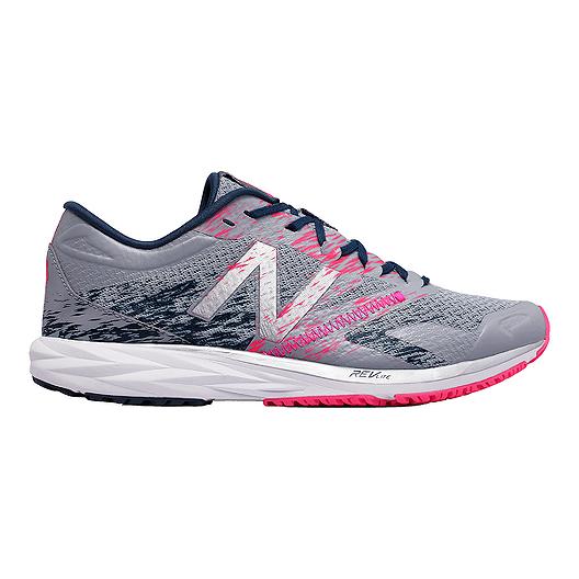 9187e818185a0 New Balance Women s STROBE1 Running Shoes - Grey Pink Blue