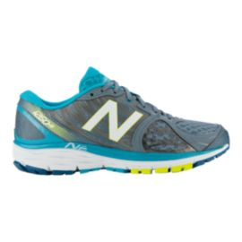 New Balance Women's 1260v5 Running Shoes - Grey Silver/Blue