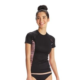 O'Neill Women's Side Print Short Sleeve Rashguard