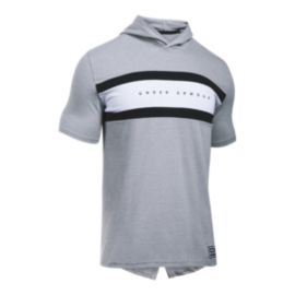 Under Armour Men's SC30 Splash Short Sleeve Hooded Top