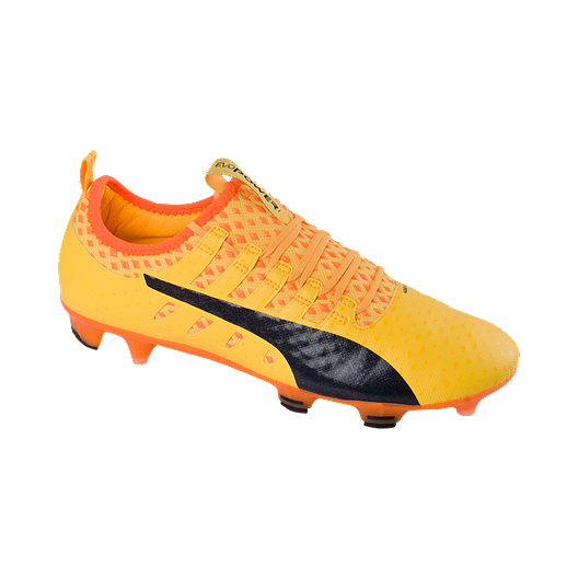 5e780c1d9 PUMA Men's EvoPower Vigor 1 FG Outdoor Soccer Cleats - Orange/Black | Sport  Chek