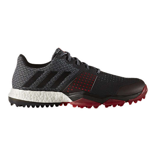 aa806eacd adidas Golf Men s Adipower Sport Boost 3 Shoes - Grey Black Red ...
