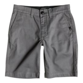 Quiksilver Boys' Everyday Union Stretch 17 Inch Chino Shorts