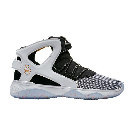 info for c7756 41122 Nike Men s Air Flight Huarache Ultra N7 Shoes - Black Heather Grey White    Sport Chek