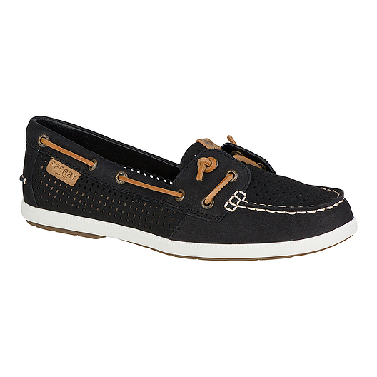 41d6c54b0f Sperry Women s Coil Ivy Perf Casual Shoes - Black