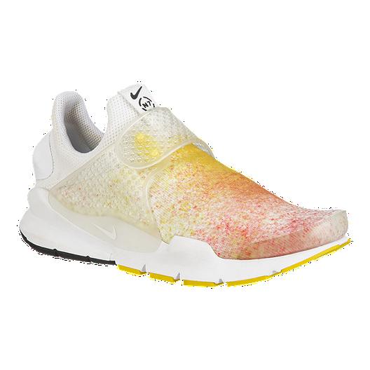 e6d24d8dbae50 Nike Women's Sock Dart GPX N7 Shoes - White/Orange Glow/Yellow