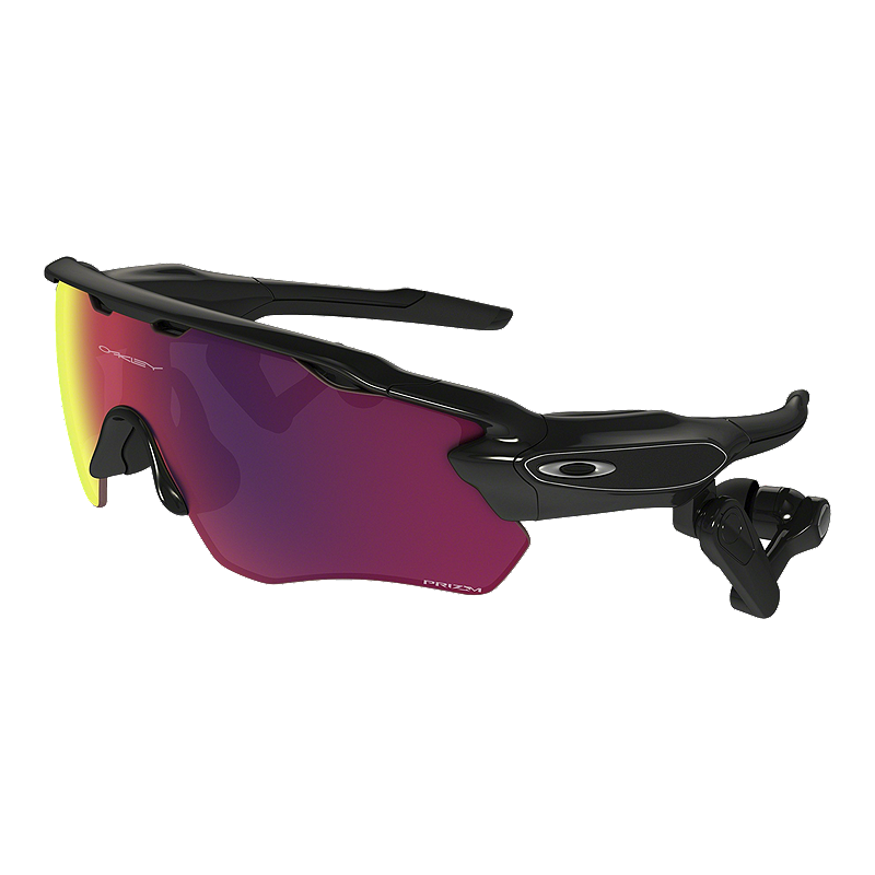 b458265310 Oakley Radar Pace Sunglasses- Polished Black with Prizm Road Lenses ...