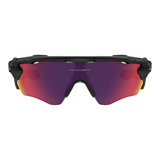 Oakley Radar Pace Sunglasses Polished Black with Prizm Road