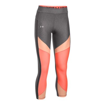 Under Armour Women's HeatGear® Armour Colorblock Crop Tights