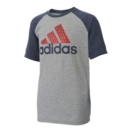 adidas Boys' Performance Raglan Shirt