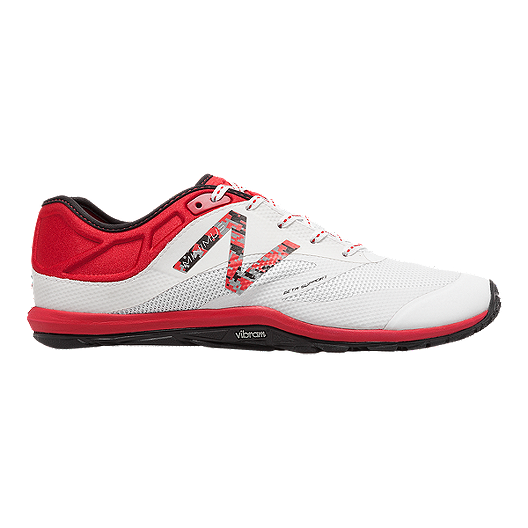 cacc8af5 New Balance Men's 20v6 Cressey D Training Shoes - White/Red | Sport Chek