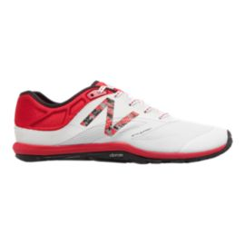 New Balance Men's UX20 Cressey D Training Shoes - White/Red