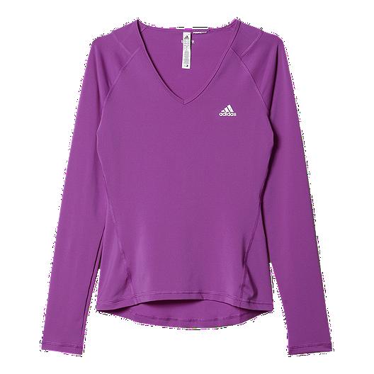 0713b747ea3b0 adidas TechFit Women's Long Sleeve Tee | Sport Chek