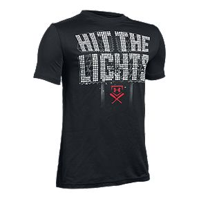 e2461a4a56b4 Under Armour Boys  Hit The Lights Short Sleeve T Shirt