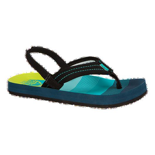 2b16ec34d01e Reef Kids  Ahi Preschool Sandals - Aqua Green