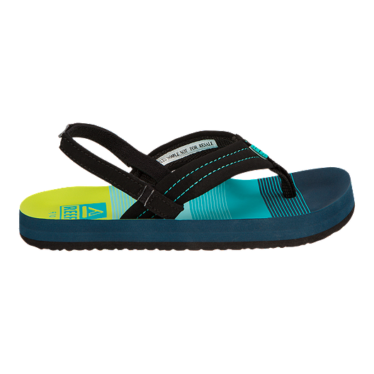 ce9a45519dac Reef Kids  Ahi Preschool Sandals - Aqua Green