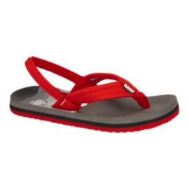 Reef Kids' Ahi Preschool Sandals - Red Shark