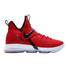 Nike Men's LeBron XIV Basketball Shoes - Red
