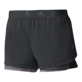 adidas Women's 2-in-1 Training Shorts