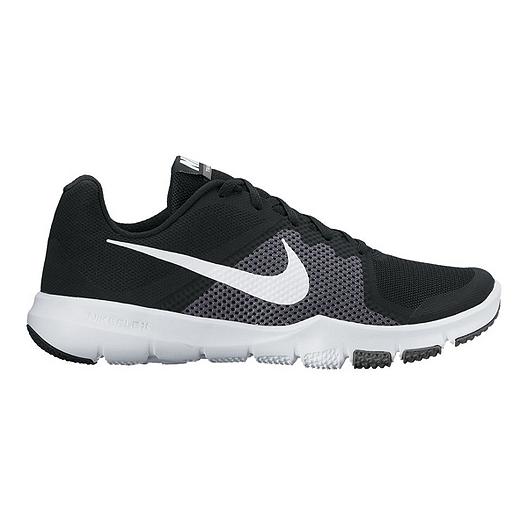 c84ee1559e4cc Nike Men s Flex Train Control 4E Extra Wide Width Training Shoes -  Black White