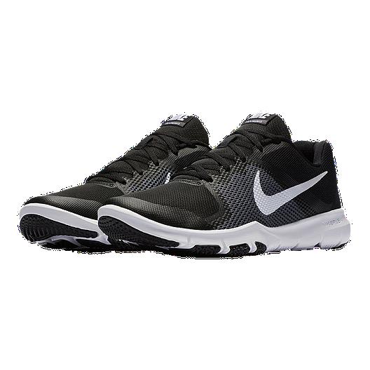 95f94bd498c6 Nike Men s Flex Train Control 4E Extra Wide Width Training Shoes -  Black White. (12). View Description