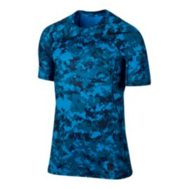 Nike Men's Pro Hypercool Fitted Digi Camo Short Sleeve Shirt