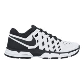 Nike Men's Lunar Fingertrap TR Training Shoes - White/Black
