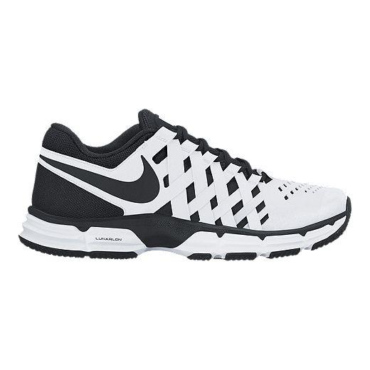 Finito Mal uso Locura  Nike Men's Lunar Fingertrap TR 4E Wide Width Training Shoes - White/Black |  Sport Chek