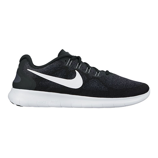 new product 8cafc 0ddf1 Nike Women's Free RN 2017 Running Shoes - Black/White