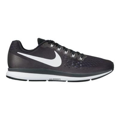 nike women s air zoom pegasus 34 running shoes black white sport rh sportchek ca