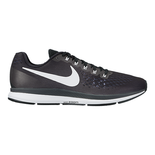 1f25e1fa979f Nike Women s Air Zoom Pegasus 34 Running Shoes - Black White