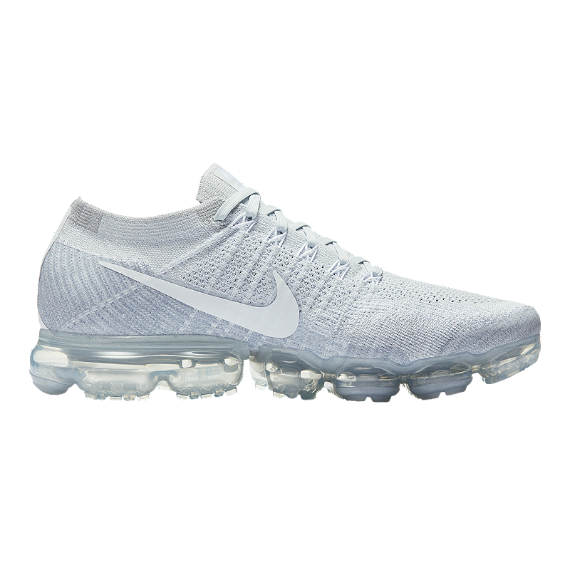 separation shoes bc288 a8353 Nike Women s Air VaporMax FlyKnit Running Shoes - Platinum White   Sport  Chek