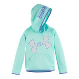 Under Armour Girls' 4-6X Armour® Fleece Pullover Hoodie