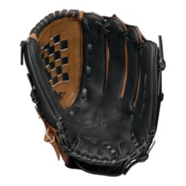 Easton Game Ready 13 Inch Softball Glove- Black/Brown