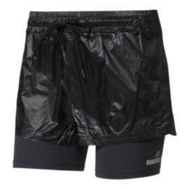 adidas Women's Run Stella McCartney 2 In1 Shorts