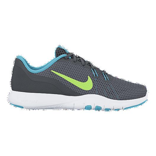 75c8180b20dd Nike Women s Flex Trainer 7 Training Shoes - Grey Blue Green