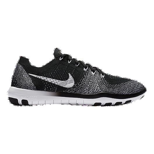 save off ab958 033e1 Nike Women s Free Focus FlyKnit 2 Training Shoes - Black White   Sport Chek