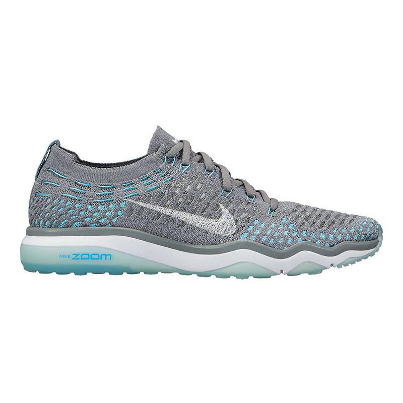 823534fdd83c Nike Women s Air Zoom Fearless FlyKnit Training Shoes - Grey Blue  (675911011065) photo