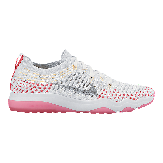 ce521f86338 Nike Women's Air Zoom Fearless FlyKnit Training Shoes - White/Pink