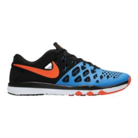 Nike Men's Train Speed 4 Training Shoes - Black/Blue/Red