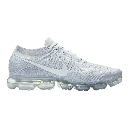 436d23aab99 Nike Men s Air VaporMax FlyKnit Running Shoes - Platinum White ...