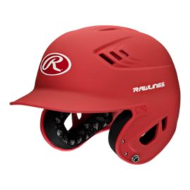 Rawlings Junior Velo Matte Helmet - Red