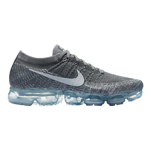 2a79544027a1 Nike Men s Air VaporMax FlyKnit Running Shoes - Dark Wolf Grey Platinum