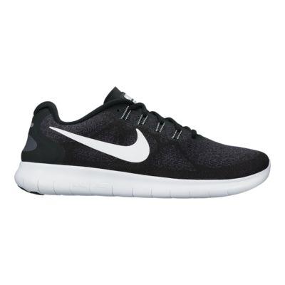 nike men s free rn 2017 running shoes black white sport chek rh sportchek ca