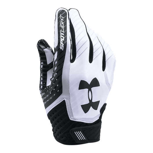 b6f99e3db8a55 Under Armour Spotlight Football Glove- Black/White | Sport Chek