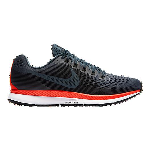 b4e34a5dd0849 Nike Men s Air Zoom Pegasus 34 Running Shoes - Navy Black Red ...